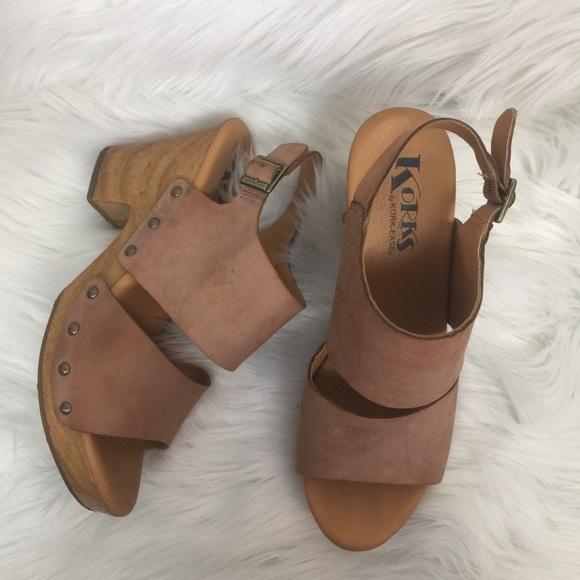 6b9e7b6d03b Kork Ease Shoes - Korks by Kork-Ease Heeled Sandal with Open Toe Tan